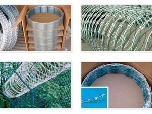 China Steels & Metals Razor Wire on sale