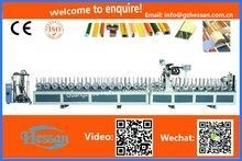 China PUR PVC/PET/VENEER/PAPER Profile wrapping machine on sale
