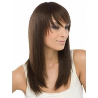 China Desire Remy Human Hair Long Wigs on sale