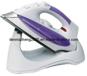 China 1800-Watt Cordless Steam/Dry Iron, Cordless Electric Quick Charge Steam Iron Trade Terms:FOB on sale