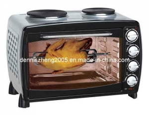 China Electric Convection Toaster Oven with BBQ and Rotisserie, 45L Capacity Trade Terms:FOB, CFR on sale