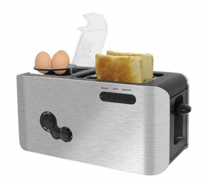 China 2 Slice Toaster + Egg Boiler (WT-268) on sale