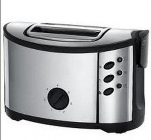 China 850W 2 Slice Stainless Steel Toaster (WT-888) on sale