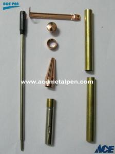 Quality Pen Kits 7mm Slimline Pen Kit in Copper plating for sale