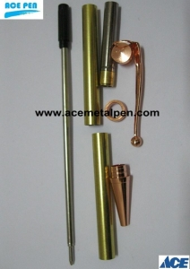 China Pen Kits Fancy Pen Kits in Copper plating wholesale