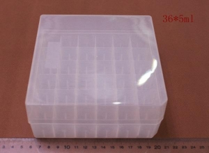 China Plastic Cryogenic Vial Storage Box Rack Cryo vial Box on sale