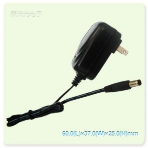 China Wall Plug-In AC/DC Adapter 9V 800mA AC/DC Adapter(US Plug) on sale