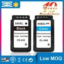 China New Products for Canon PG545 CL546 Ink Cartridges Show Ink Level Chip reset cartridge on sale