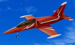 China L-39 2.4G Ready-To-Fly Electric Brushless EDF RC Jet Airplane Red on sale