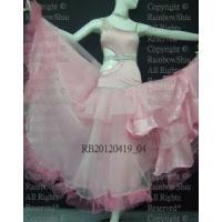 China Rhinestones Latin Dance Dress rb20120419_04 on sale