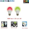 China LED Bulb android/ios APP control RGBW bulb 6W for sale