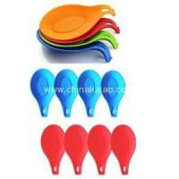 New Kitchenware Colorful Ladle Silicone Rest
