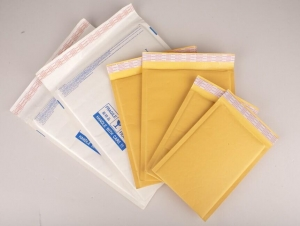 China gold kraft bubble mailer envelope bags on sale