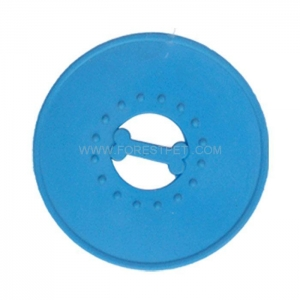 China Pet Rubber frisbee Toy Dog Motion Activated Chew Toys on sale