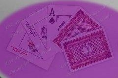 China Poker club invisible ink marked plastic cards for UV contact lenses on sale