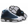 China Air Jordan 13 Retro Flints French Blue White Grey Shoes for sale