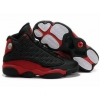 China Air Jordan 13 Retro Black True Red Shoes for sale