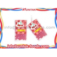 Cherry Fruity Sugar Coated Candy , Fat Free Sugar Free Candy With Crunchy Coating