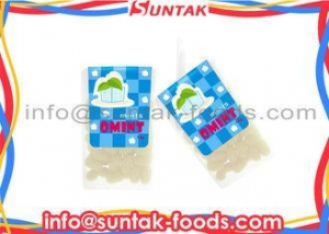 China Healthy Strongest Breath Mints , Cooling Press Low Fat Candy With Low Sugar on sale