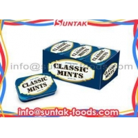 Calorie Free Compressed Dextrose Candy , Sugar Free Peppermints With Display Box