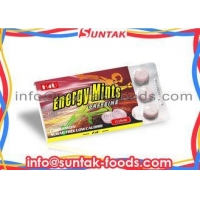 High Energy Mints Candy For Healthy Supplement , Sugar Free Mints Blister Pack