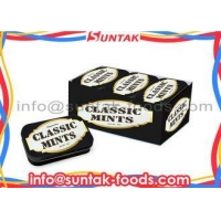 Sugar Free Liquorice Compressed Dextrose Candy In Press Tablet Energy Supply