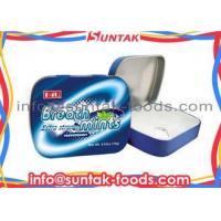 Metal Tin Box Classic Hard Candy , Spearmint Sugar Free Fat Free Candy