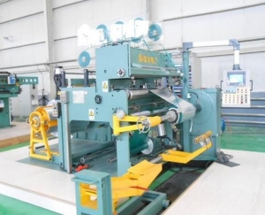 China Foil winding machine with Cold Press welding on sale