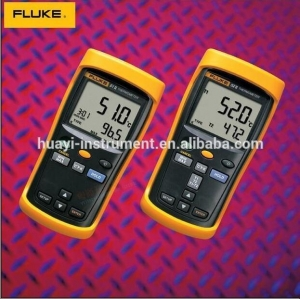 China Fluke 51-2 CMC Data Logging Contact High Accuracy Infrared Thermometer with Larg on sale