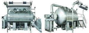 China Eco Friendly Cloth Dyeing Finishing Machine Liquid Flow and Gas Liquid Mixing on sale