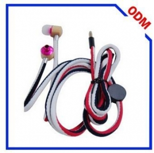 China shoes lace earphone For wireless waterproof headphones with built-in mp3 player on sale