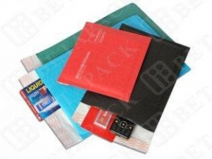 China Colored Water Resistant Kraft Bubble Mailer Envelopes Bags 165 x 165mm on sale