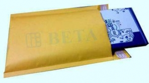 China Golden Kraft 000 Bubble Envelopes Eco Lite Bubble Mailers With Hot Melt adhesive Tape on sale