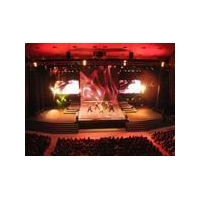 China Tunnel LED Light B18 SMD 3in1 Full Color LED Curtain on sale