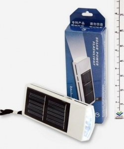 China Electronic items Item no:5LED SOLAR FLASHLIGHT on sale