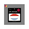 China Flag Lips Tattoo Sticker JYC028 for sale