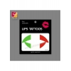 China China Supplier Flag Lips Tattoo JYC033 for sale