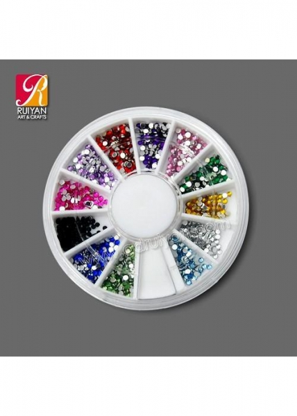 China 2mm Nail Art Diamond With Round