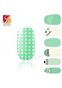 China Hot Nail Sticker Printer Nail Wrap For Girls SJ03003 on sale