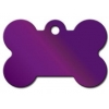 China Large Bone Tag Bright Purple for sale