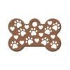 China Small Bone - Copper w/ Paws & Hearts for sale