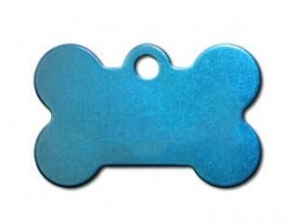 China Small Bone Blue Anodized on sale