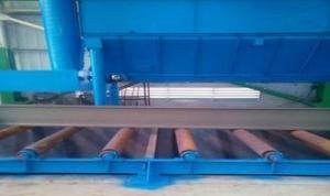 China H Beam Shot Blasting Machine , Bead Blasting Equipment For Structural Steel Parts on sale