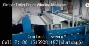 China Toilet Paper Making MachineSimple Hand Glued on sale