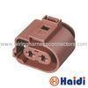 China 1-967412-2 Male And Female Electrical Connectors 2 Way Sealed For Automobile on sale
