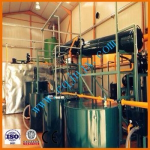 China vacuum distillation machine,waste oil re-refinning system, used motor oil recycle machine on sale