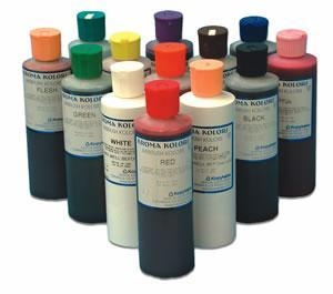 China Airbrush Food Colours KROMA COLOURS 266ml - Individual bottle - Choose from 11 different colours on sale