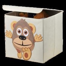 China Collapsible Kids Cartoon Cardboard Stotage Box, Cube Storage Box with Lid on sale