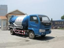 China Yuejin handsome tiger sewage suction trucks (JDF5060GXWY Jiang special suction sewage truck ) on sale