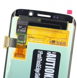 China Galaxy S6 LCD Screen Assembly with Touch Blue , Replacement on sale